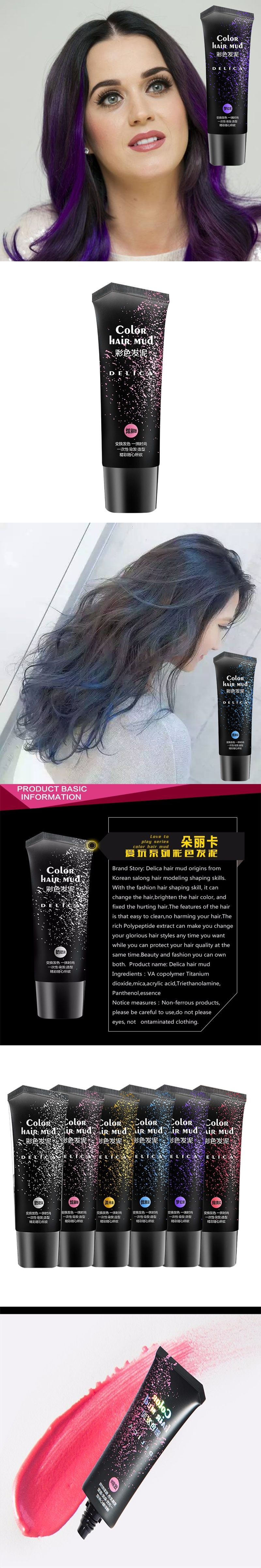 Inspirational Gel Hair Color