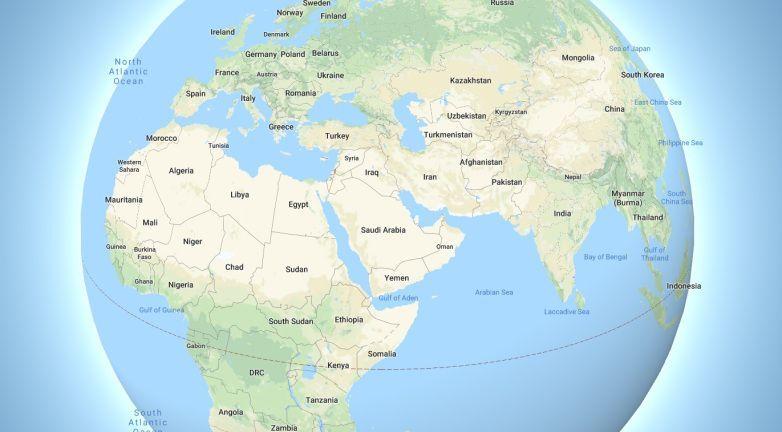 جوجل تدحض نظرية الأرض المسطحة عبر تطبيق Google Maps