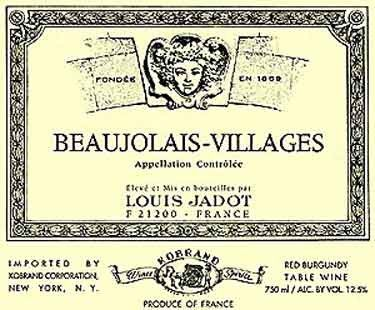 I just tried the Red Burgandy & it was just right. Louis Jadot Beaujolais Villages