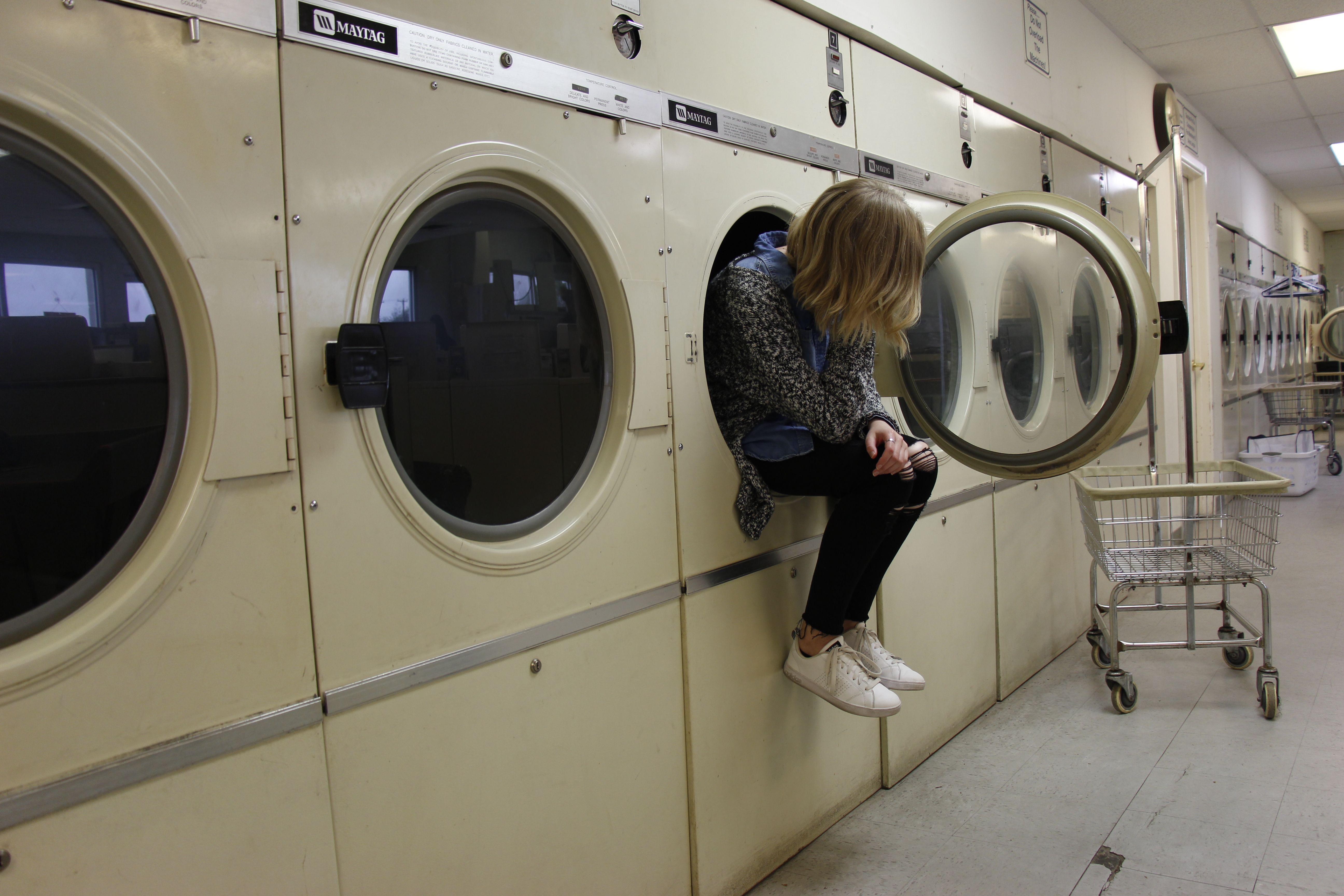 Laundry mat thinkin
