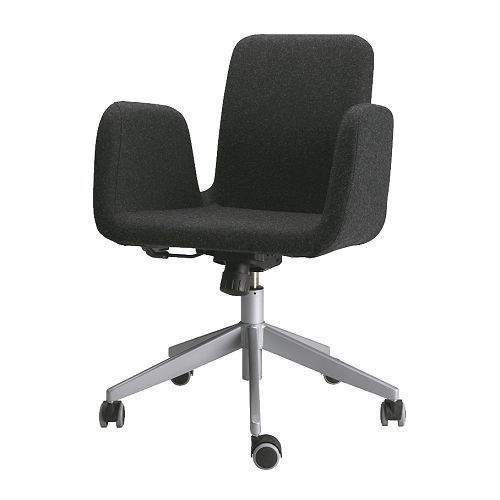 PATRIK Swivel chair IKEA Height adjustable for a comfortable ...