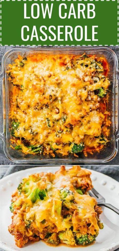 Dies Ist Ein Kostliches Keto Auflauf Abendessen Mit Rinderhackfleisch Brokkoli Und Tomat Dinner With Ground Beef Dinner Casseroles Ground Beef Recipes Healthy