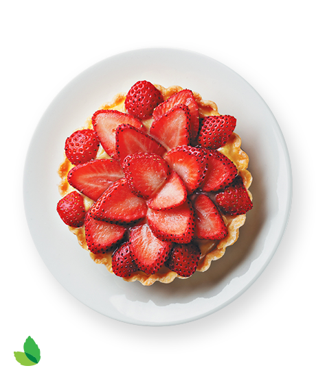 Strawberry Tart Recipe with Truvía® Natural Sweetener
