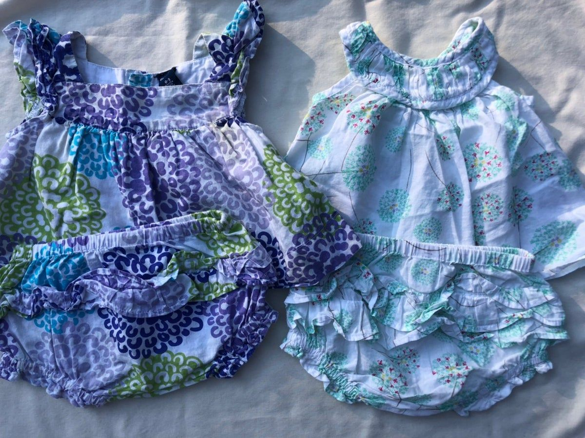 Old Navy baby girl summer outfit bundle