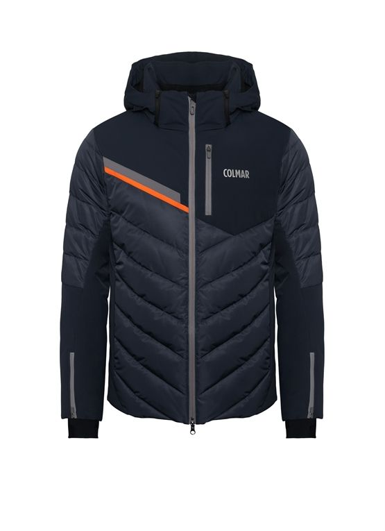Waterproof men's ski jacket from Colmar Alpine with down