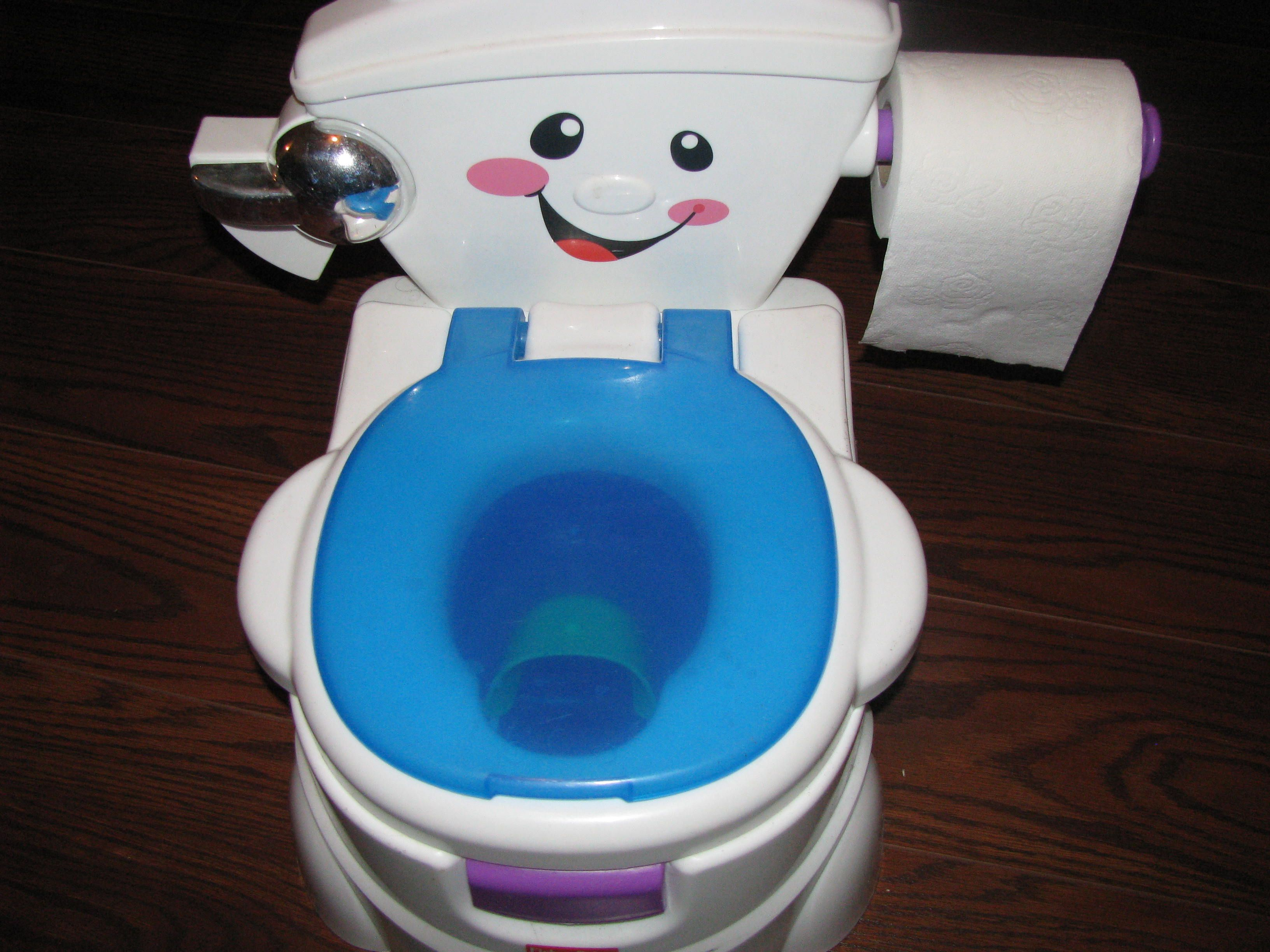 Potty Training Toilet : My review of the fisher price cheer for me potty seat for