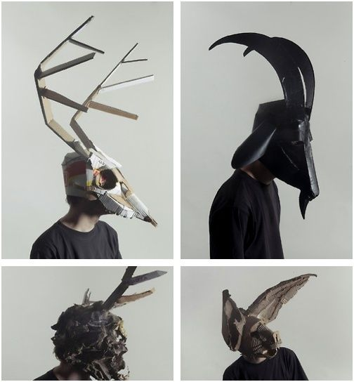 3d cardboard mask template google search costume pinterest 3d cardboard mask template google search pronofoot35fo Images