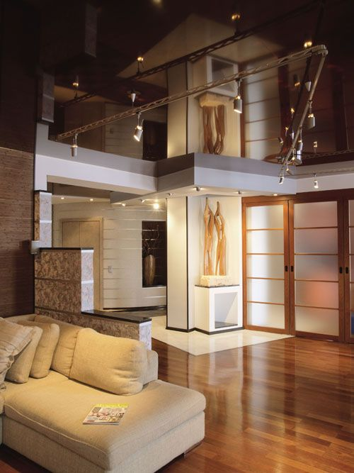 Lovely Stretch Ceiling Basement