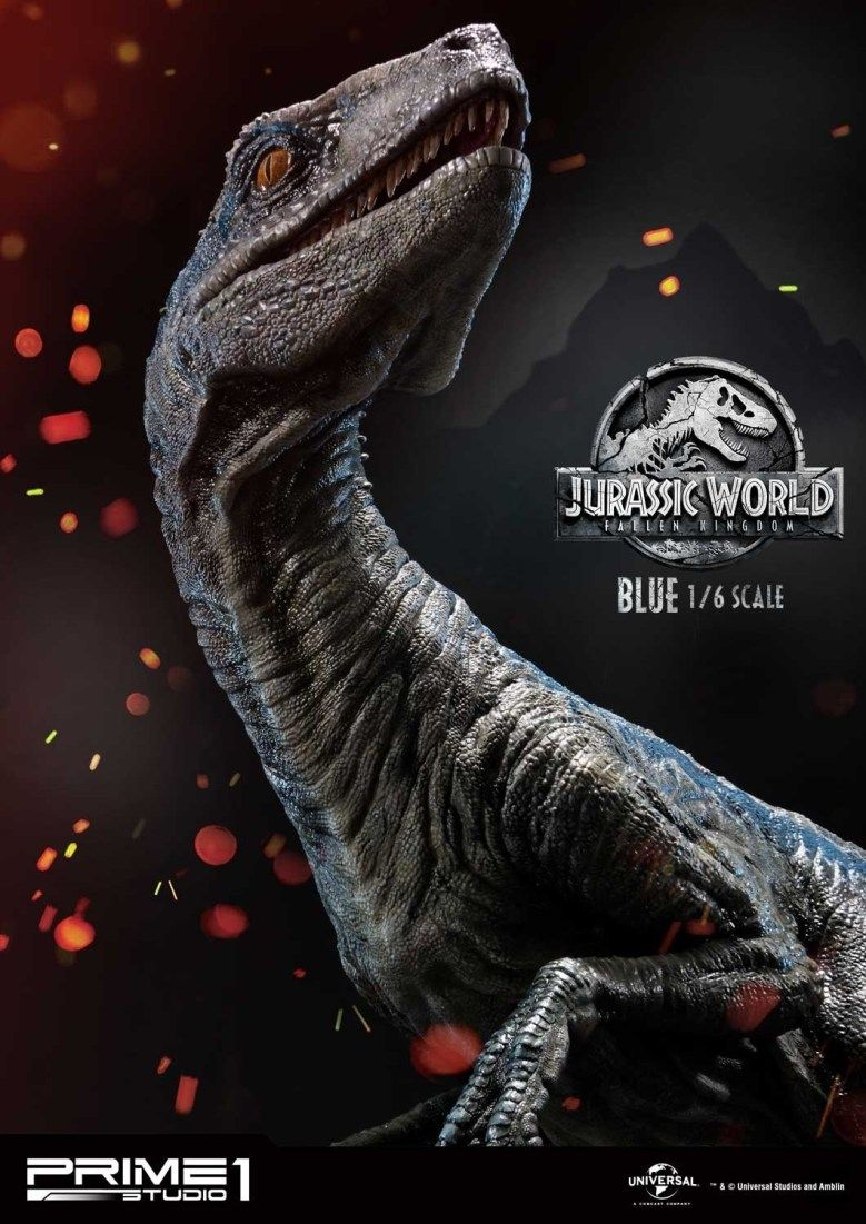 Prime 1 Jurassic World Blue 058 Dinosaurios Jurassic World Animales De La Prehistoria Gran Tiburon Blanco