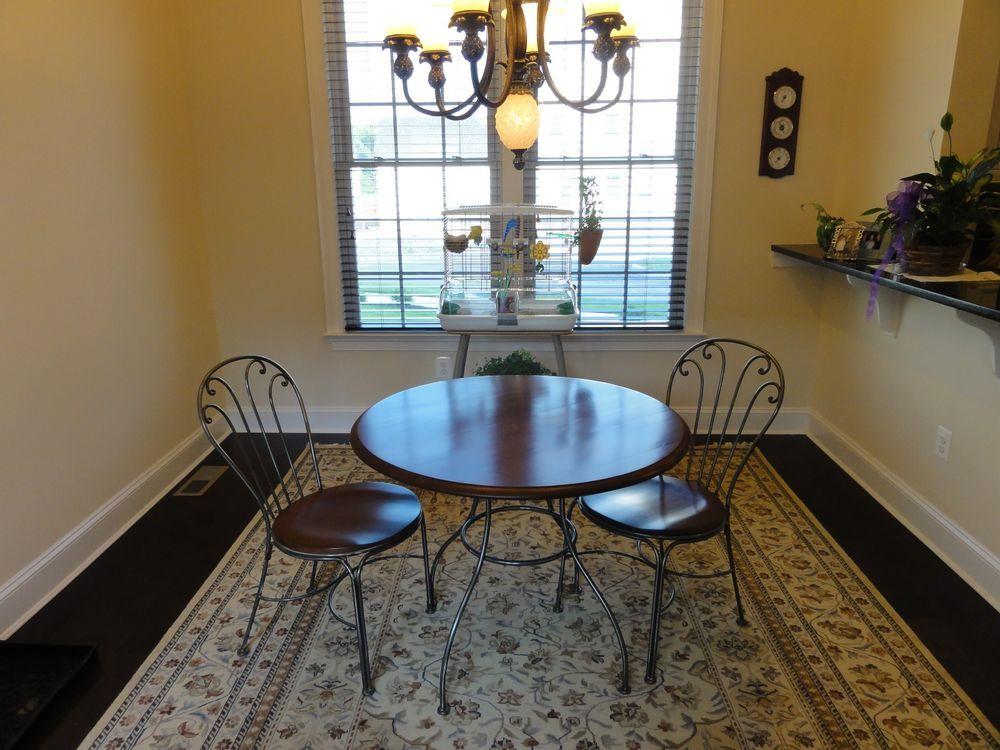 Ethan Allen Bistro Set Table 2 Chairs Collectors Classics