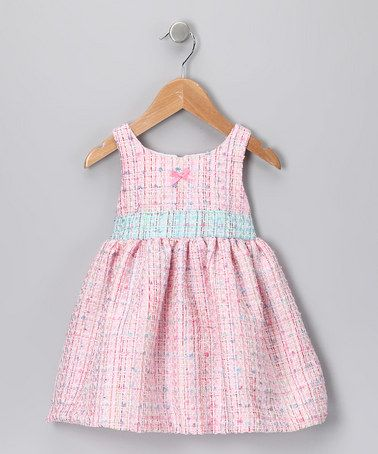Take a look at this Pink Boucle Petticoat Dress - Infant & Toddler by Jupón by Nay on #zulily today!