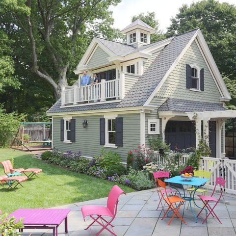 Colonial Garage Carriage House Interior Design Ideas, Pictures, Remodel And  Decor ~ Great Pin