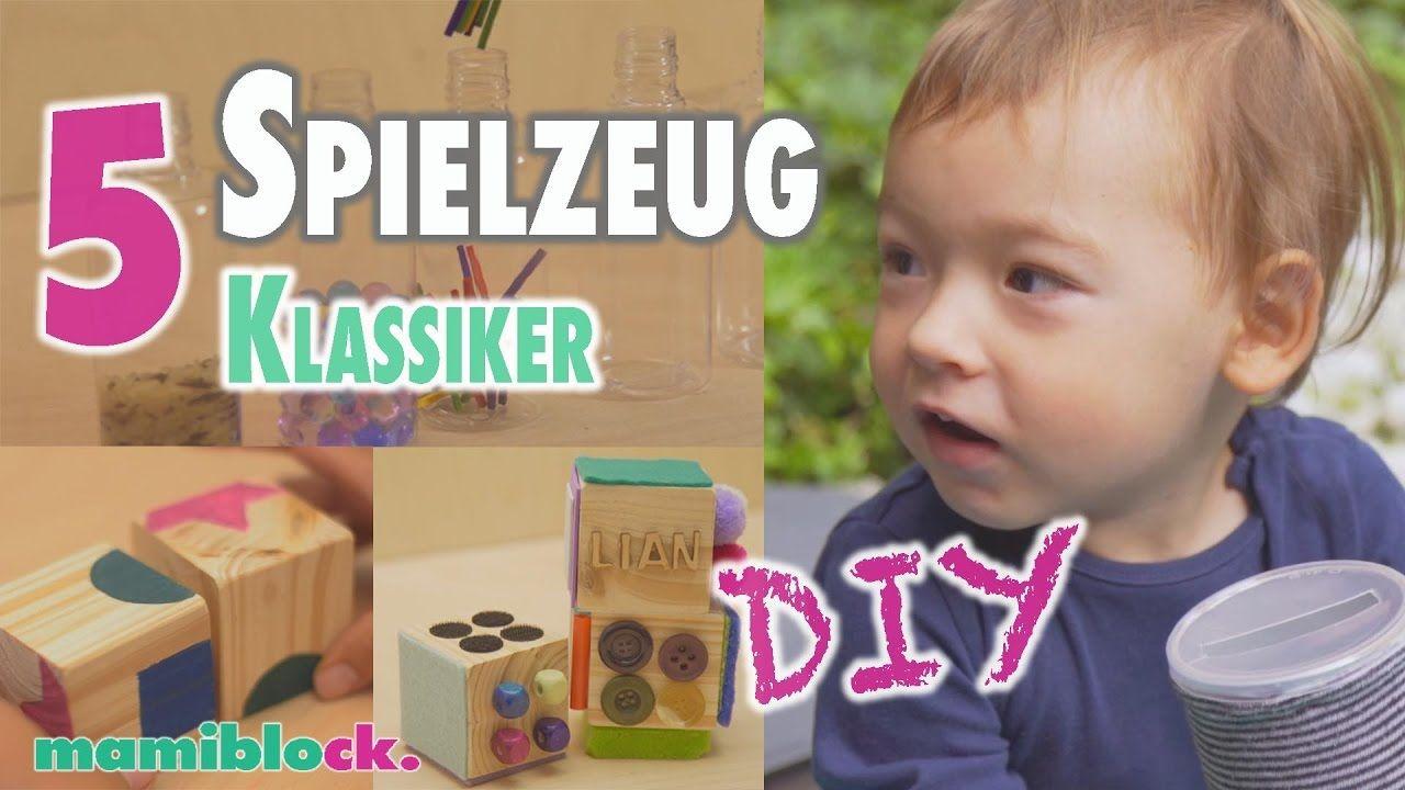 5 klassische Spielzeuge selber machen   DIY   mamiblock