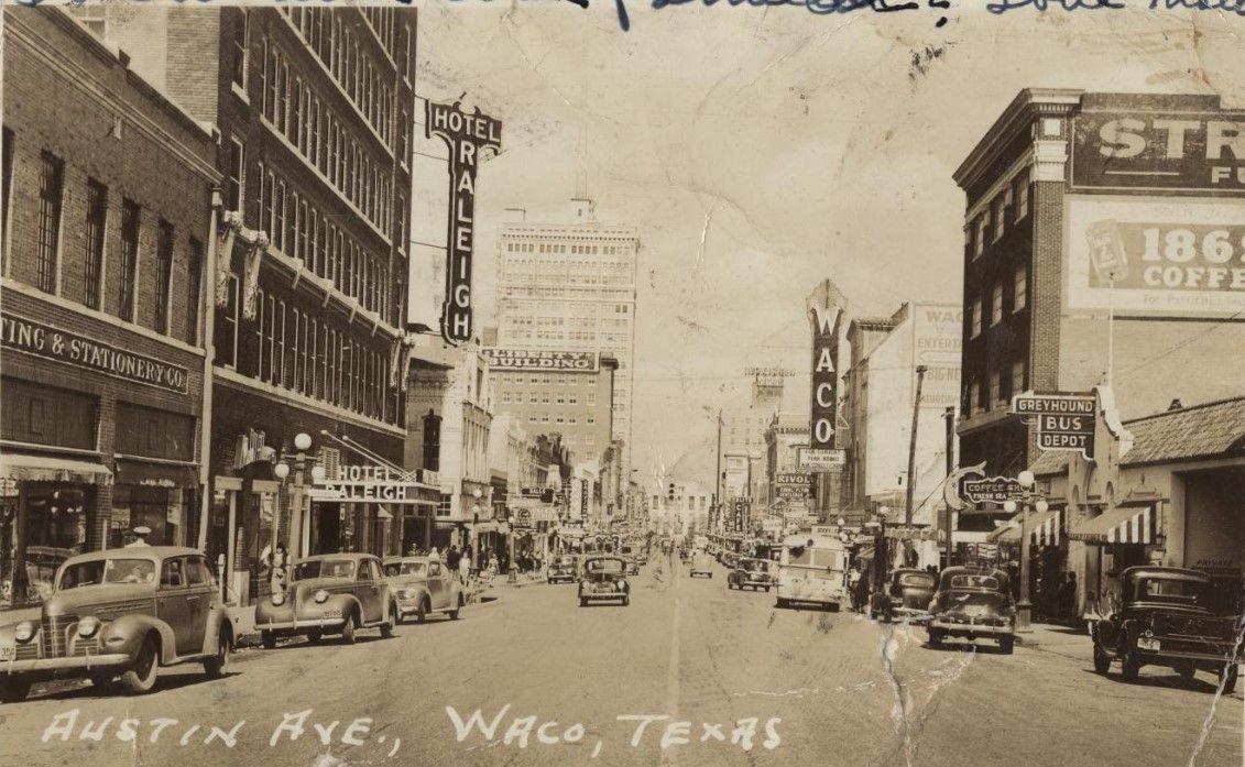 Pin By Davis On Historic Waco Texas Street View Street