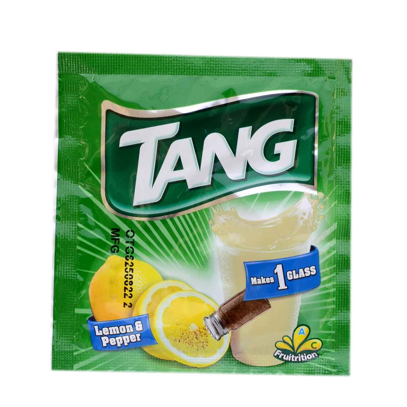 Tang lemon and peper energy lemon refreshing Stuffed