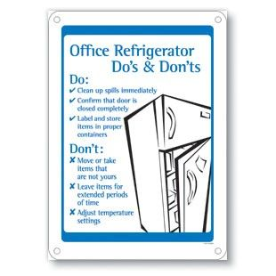 Office Refrigerator Do's & Don'ts | Office Etiquette