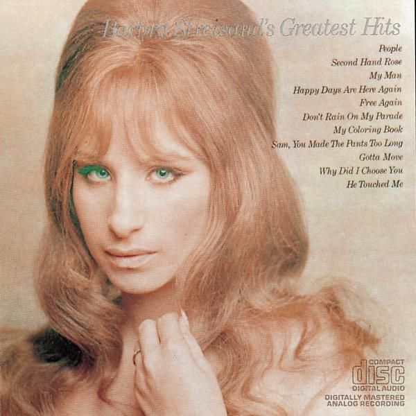Barbra Streisand Barbra Streisand S Greatest Hits Barbra Barbra Streisand Greatest Hits