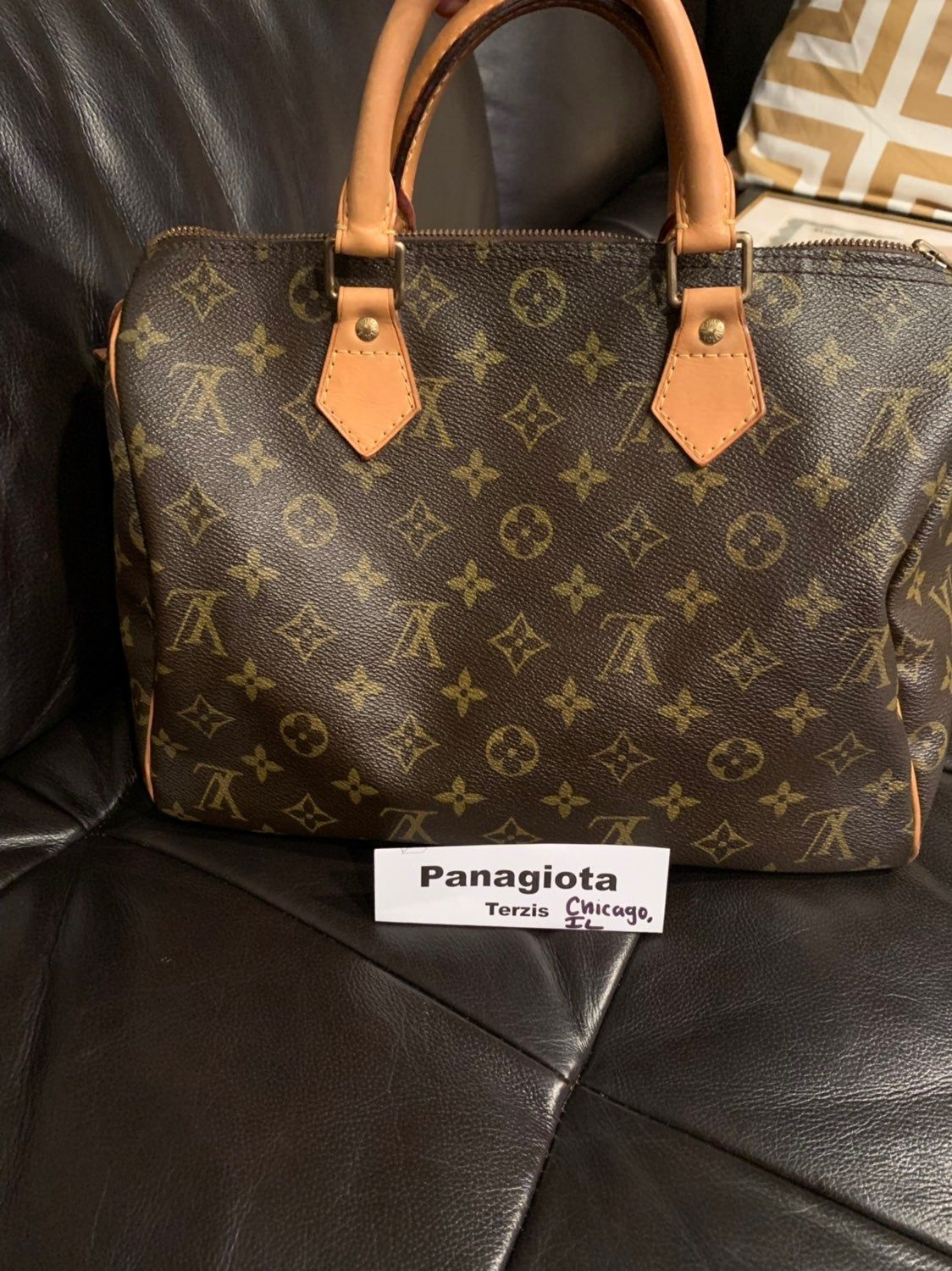 Preloved Authentic Lv Speedy Bag With Dust Bag And Copy Of The Receipt Date Code Aa4017 Abou Louis Vuitton Louis Vuitton Speedy 30 Louis Vuitton Speedy Bag