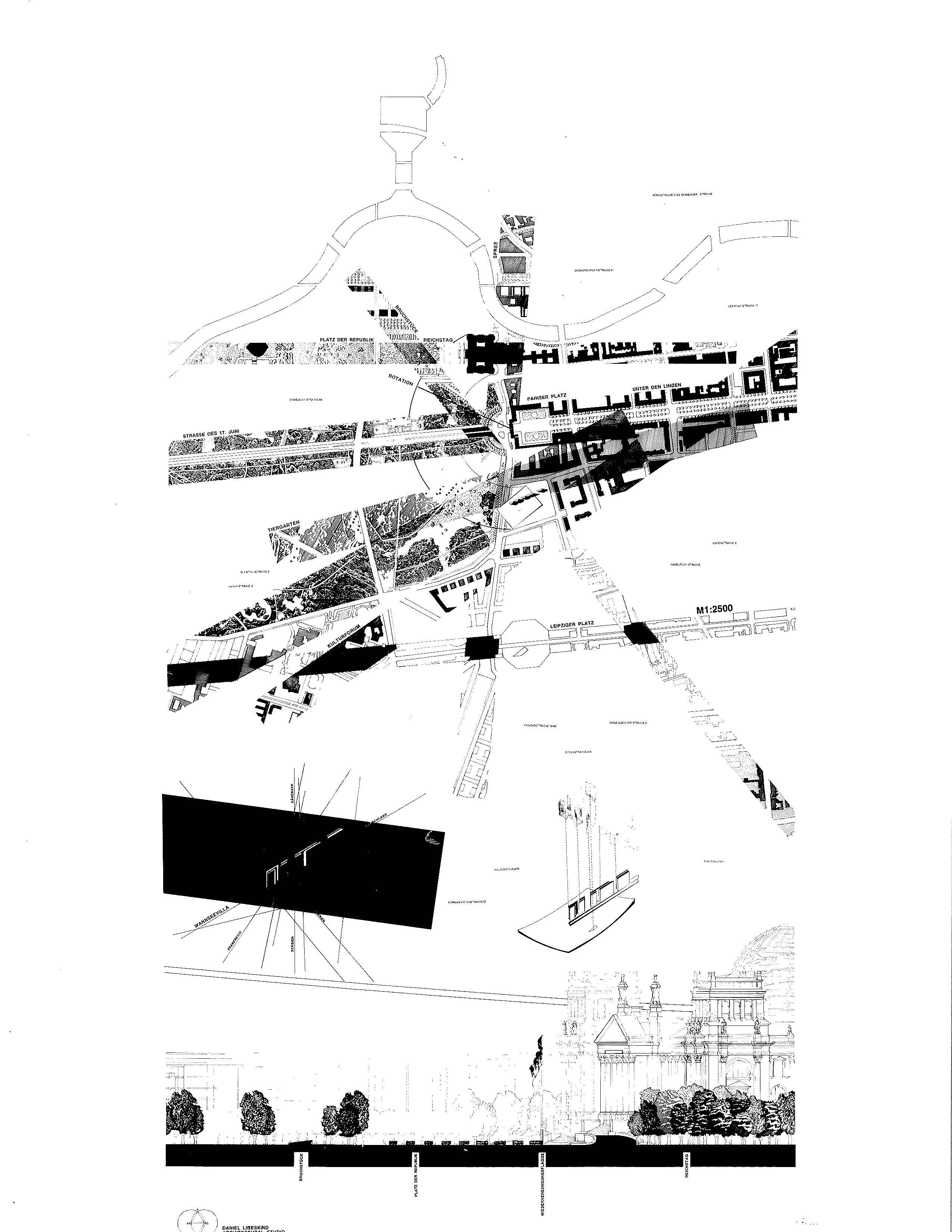 libeskind drawing  mapping