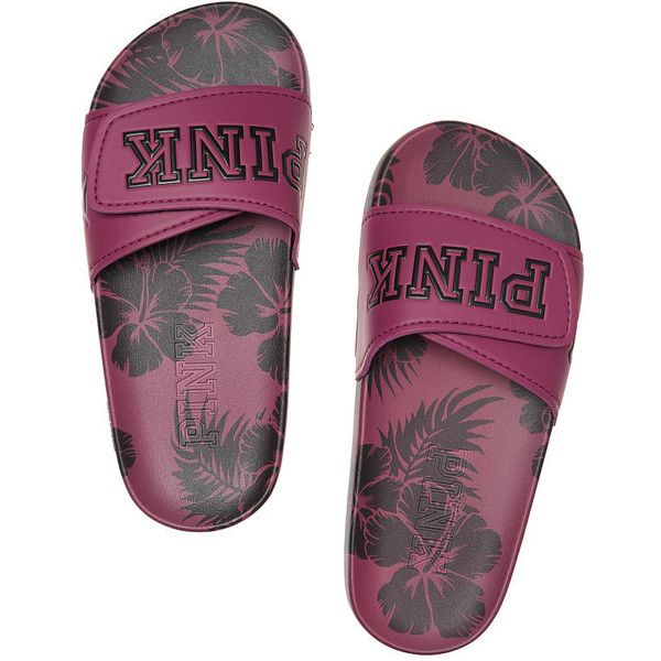 ae34cc790a051 Victoria's Secret Crossover Comfort Slide ($25) ❤ liked on Polyvore ...