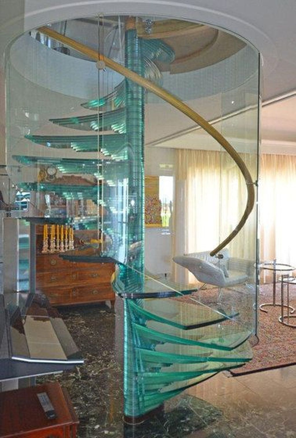 Best 44 Wonderful Glass Staircase Ideas In 2020 Staircase Design Glass Staircase Stairs Design Modern 400 x 300