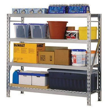 4 Level Storage Rack With Zinc Plated Wire Decking 77 Quot L X