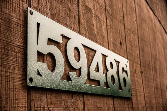 Address Sign  Home or Business  Home Decor  Wall Art