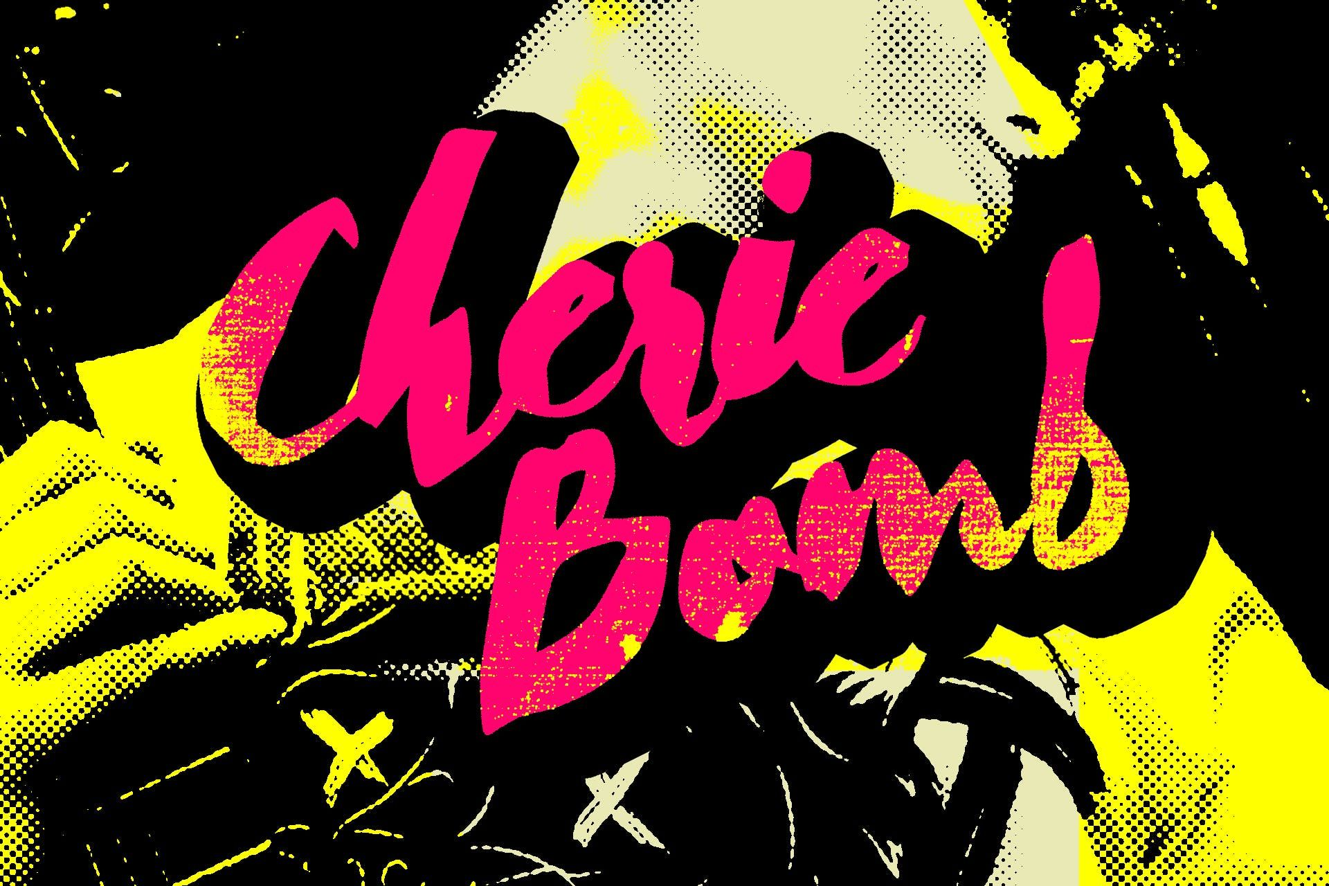 Download Cherie Bomb Fonts by dafeld. Subscribe to Envato