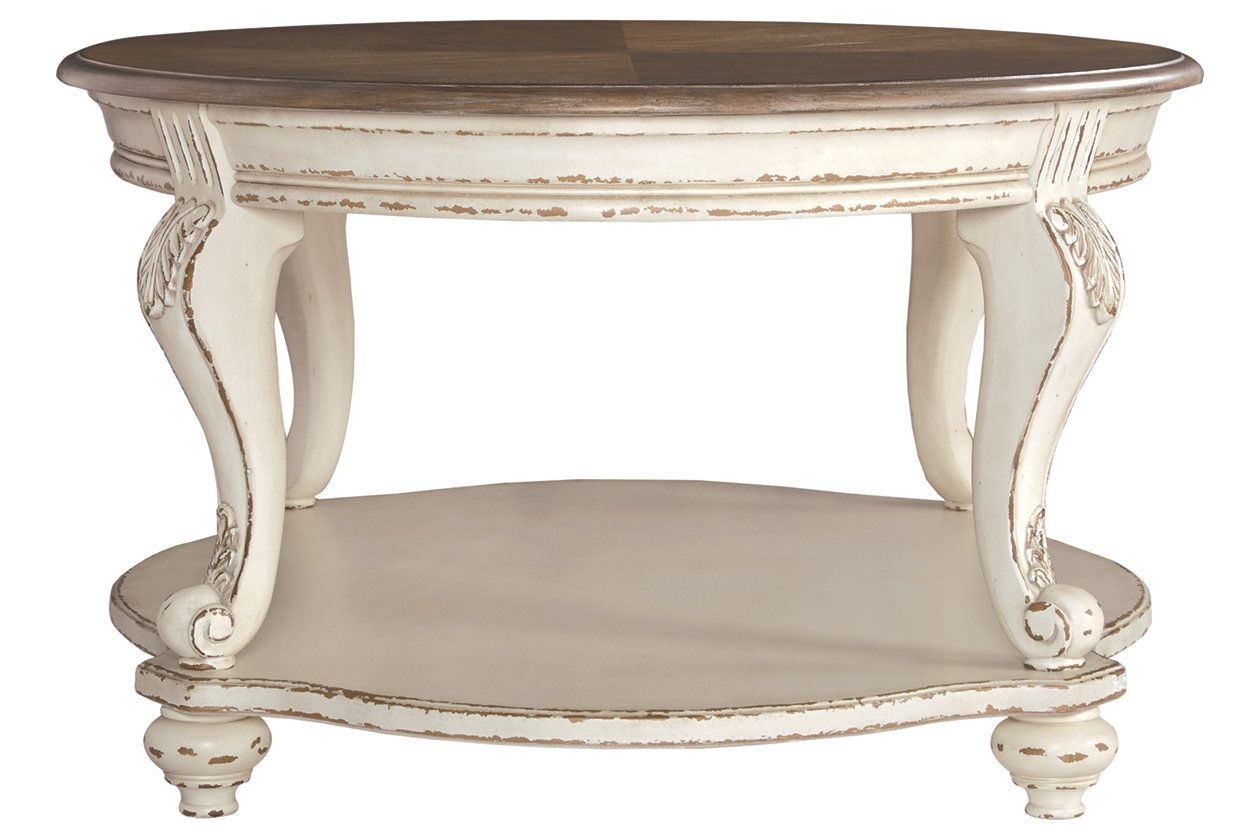 Realyn Coffee Table End Tables Furniture Side Tables End Table