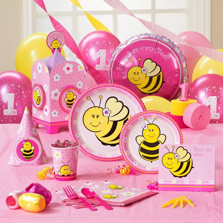 Sweet As Can Bee Birthday Classic Party Pack