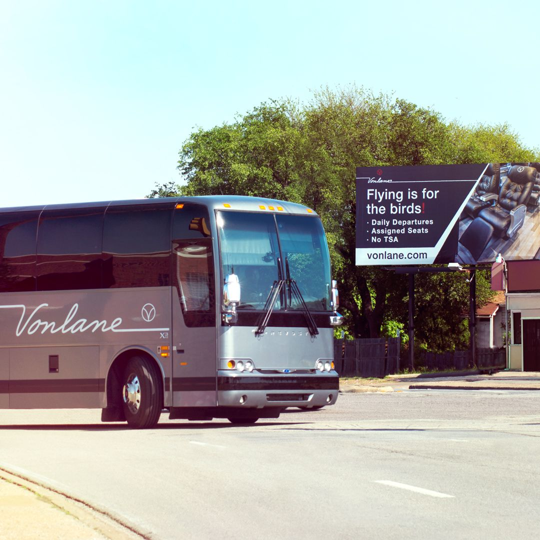 Driving By Our Billboards Vonlane Privatejetonwheels Luxury Firstclass Austin Dallas Houston Sanantonio F Ways To Travel Assigned Seating First Class