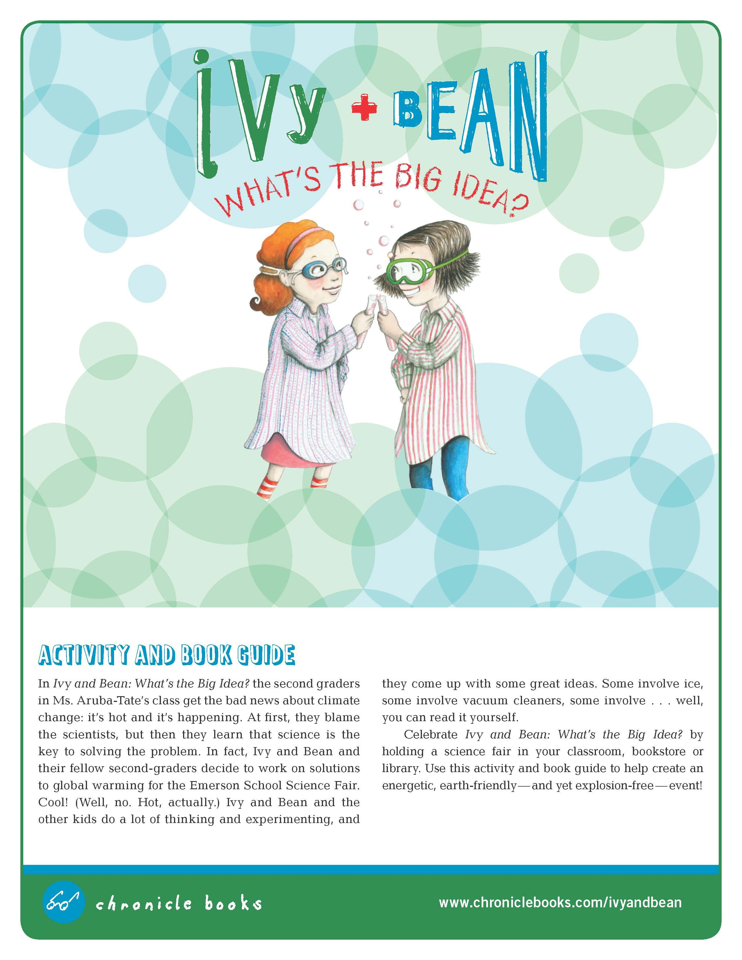 Ivy and Bean What's the Big Idea Science Fair Activity Kit