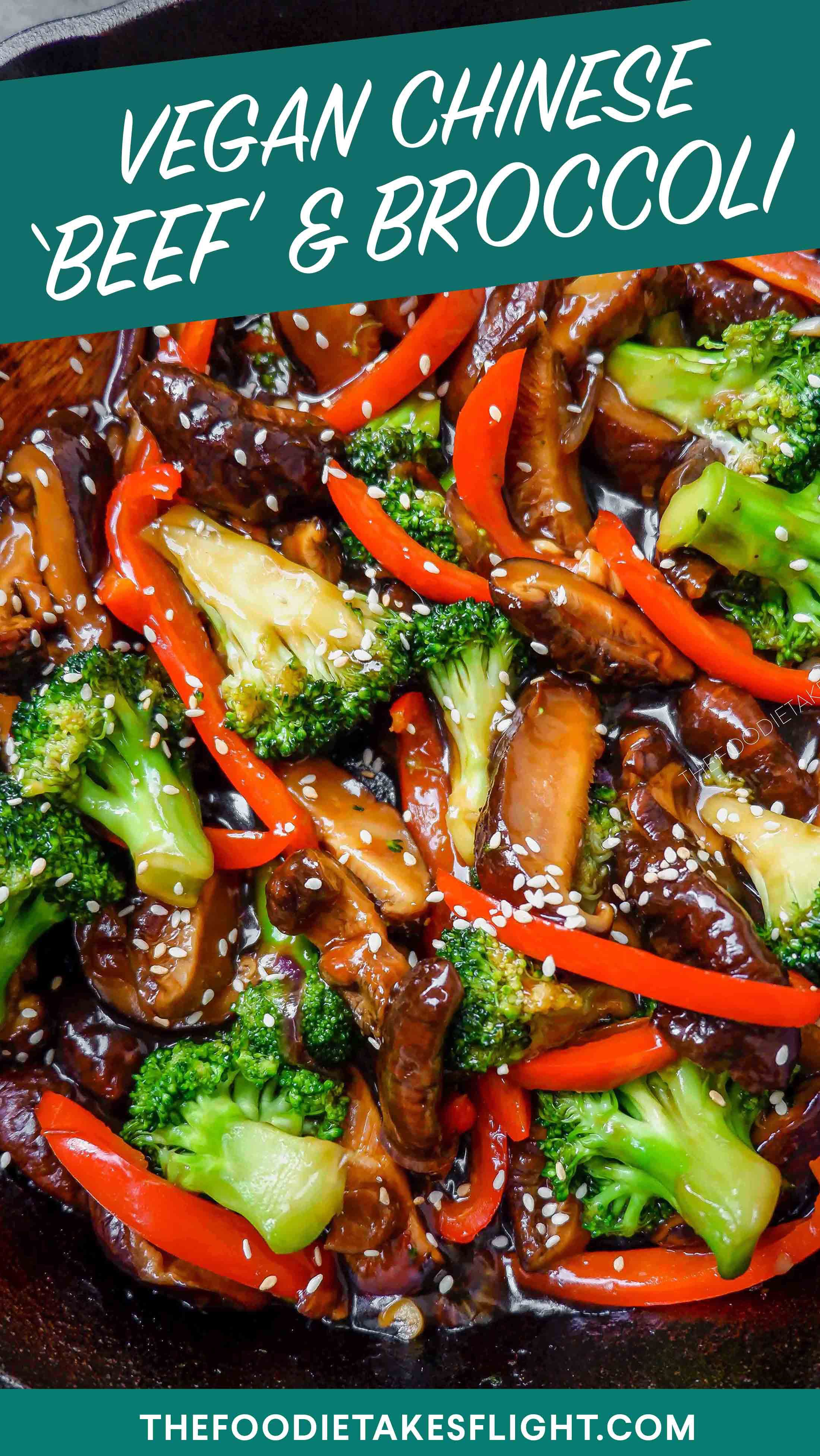 Chinese Style No Beef And Broccoli Vegan Vegan Chinese Food Broccoli Dishes Vegan Dinner Recipes