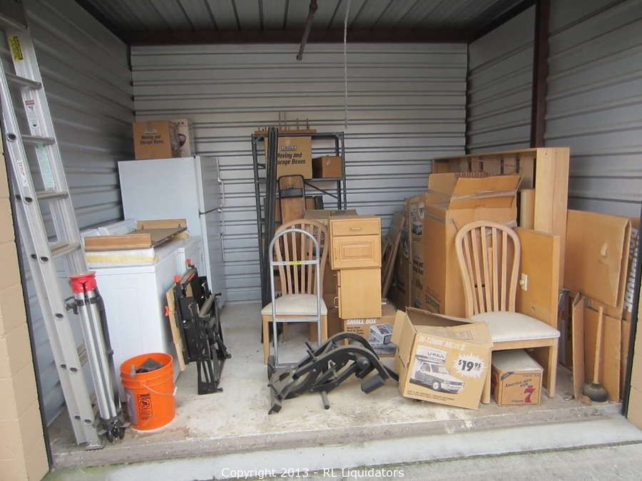 12 X 10 Storage Unit Contents Bidding On This Item Starts Friday February 15 2013 At 12 00 Pm Pt Storage Unit Auctions Storage Unit Company Storage
