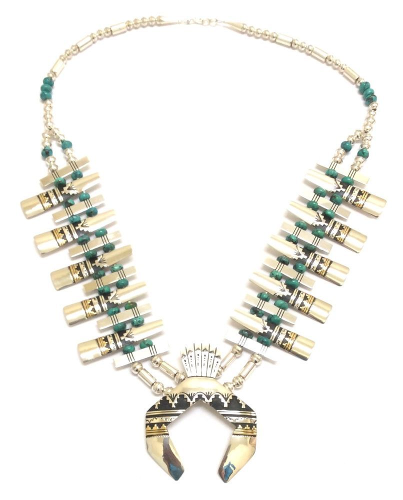 Details About Sterling Silver And Nickel Silver Navajo