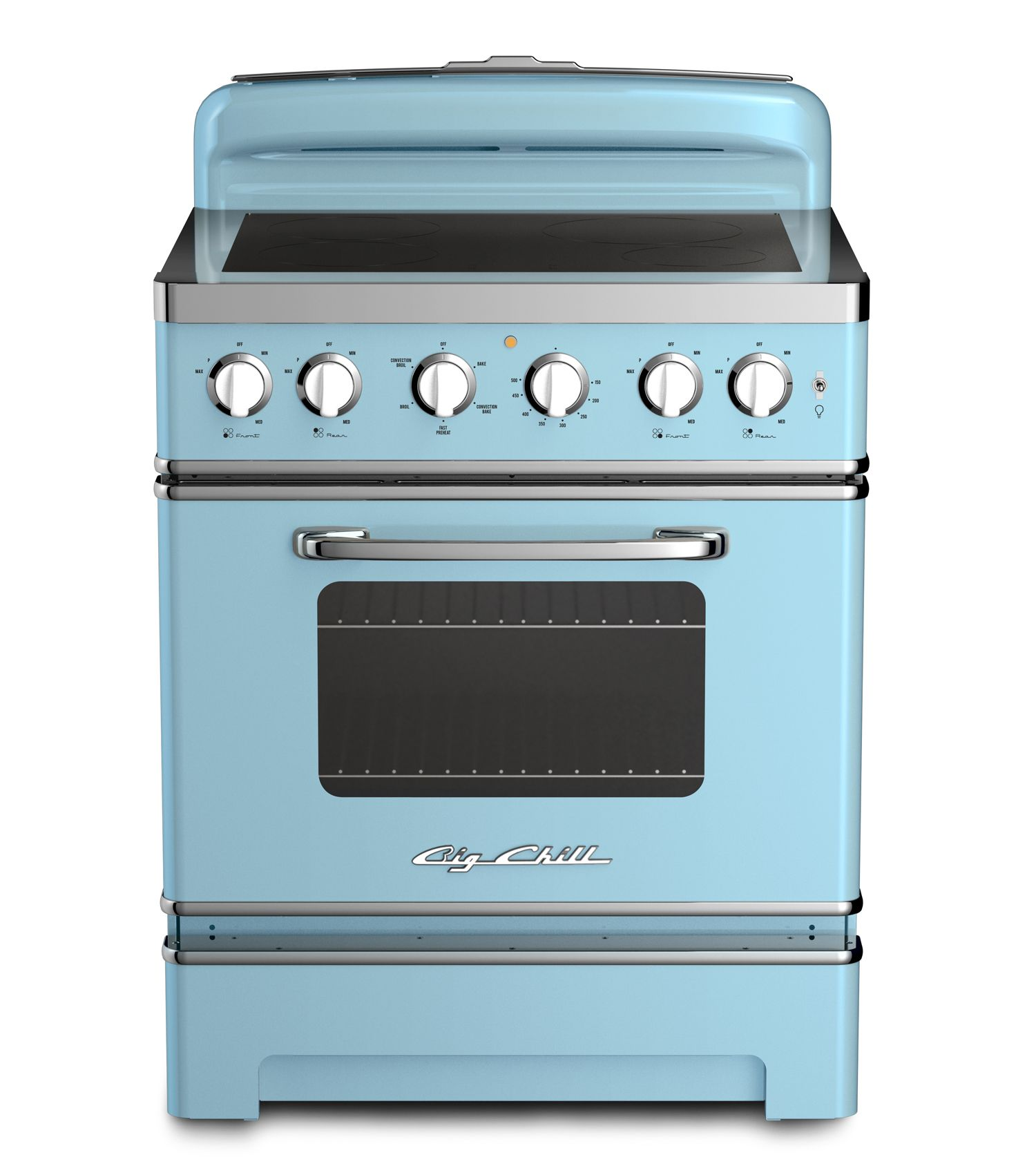 Retro Electric Induction Range In 2019 Kitchen
