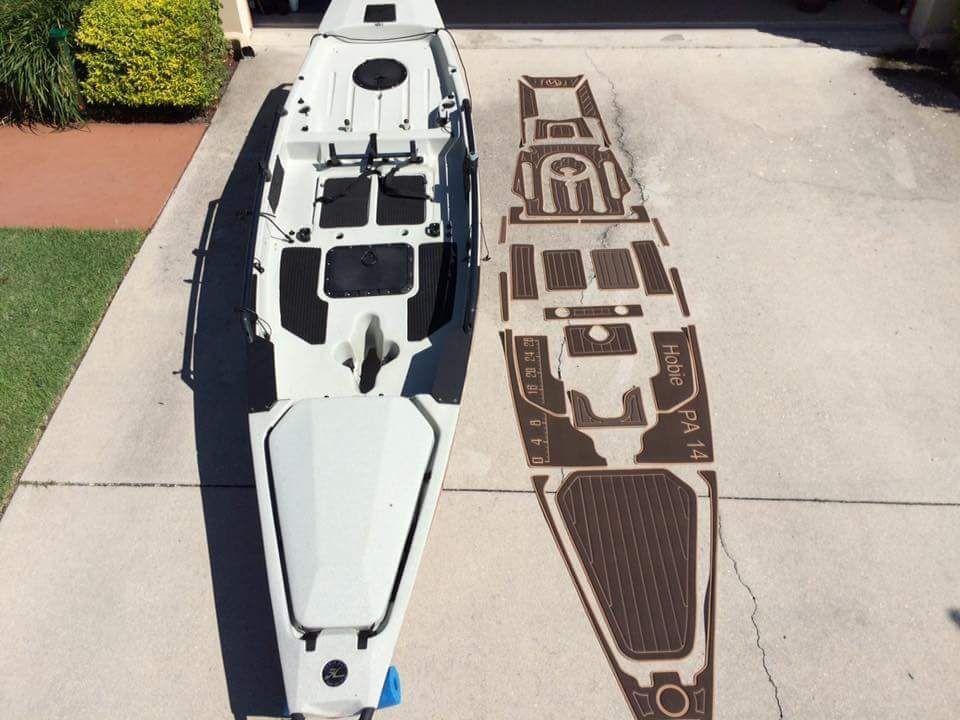 Marine Mat And Hobie Pa 14 Kayak Fishing Tips Kayak Fishing Gear Angler Kayak