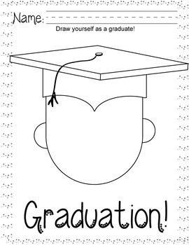2020- Pre-K / Kindergarten Graduation Activity Pack in