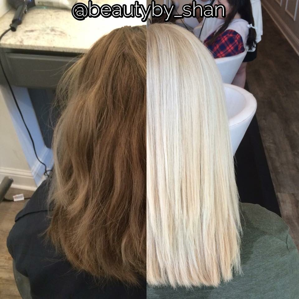 Muddy Brown To Platinum Blonde Color Correction Blonde Platinum Card Beautyby Shan Toner For Blonde Hair Platnium Blonde Hair Blonde Hair