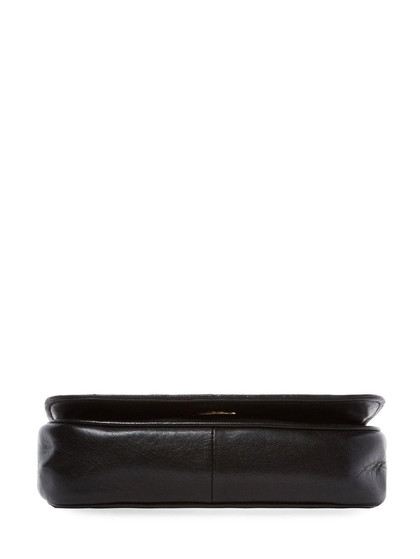 Black Lambskin Tri Border Full Flap by Chanel at Gilt