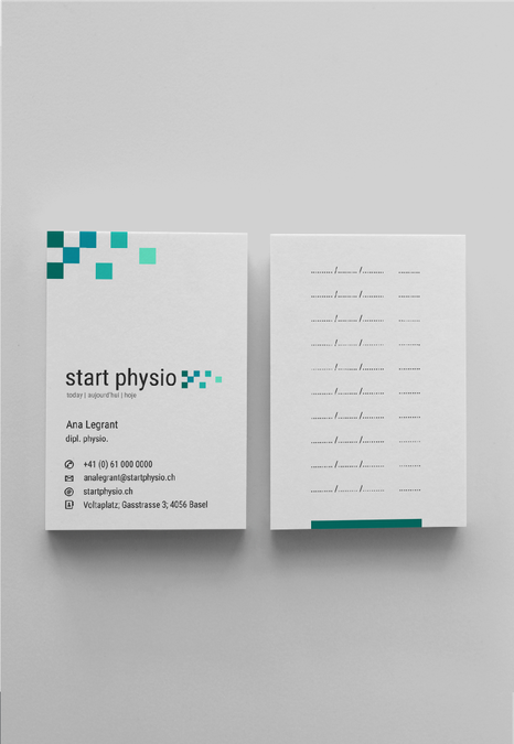 Less But Better Logo For Multi Language Physiotherapy Practice By By Laura