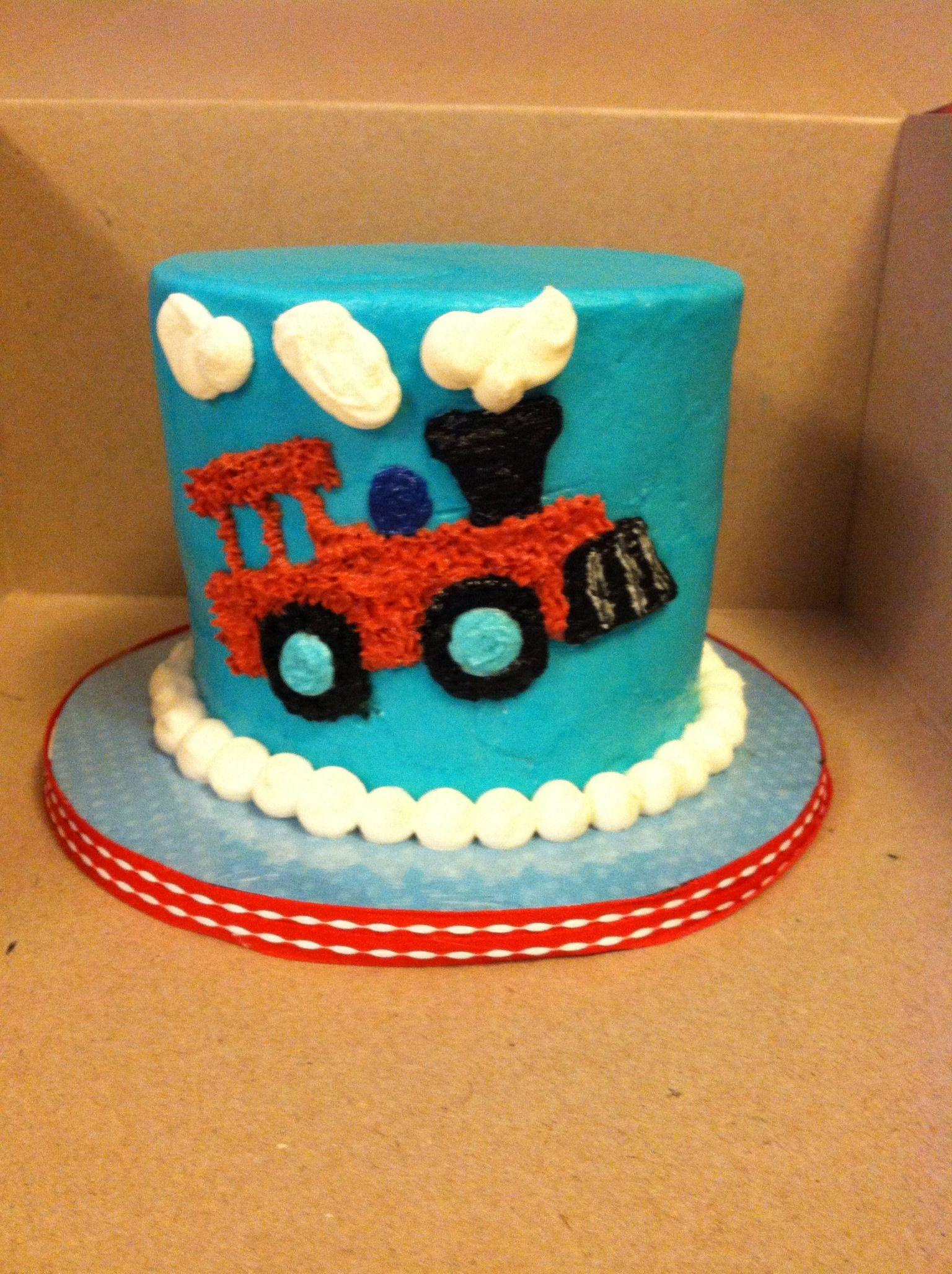 Train Smash Cake