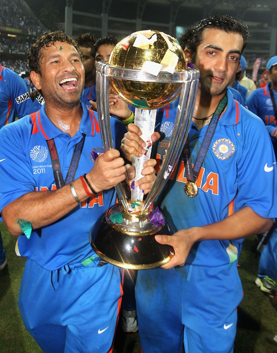 Tendulkar Gambhir Cricket Teams India Cricket Team 2011 Cricket World Cup