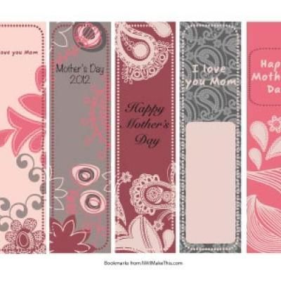 photograph about Mother's Day Bookmarks Printable Free identify Moms Working day Bookmarks Mothers Working day Bookmarks, Moms working day