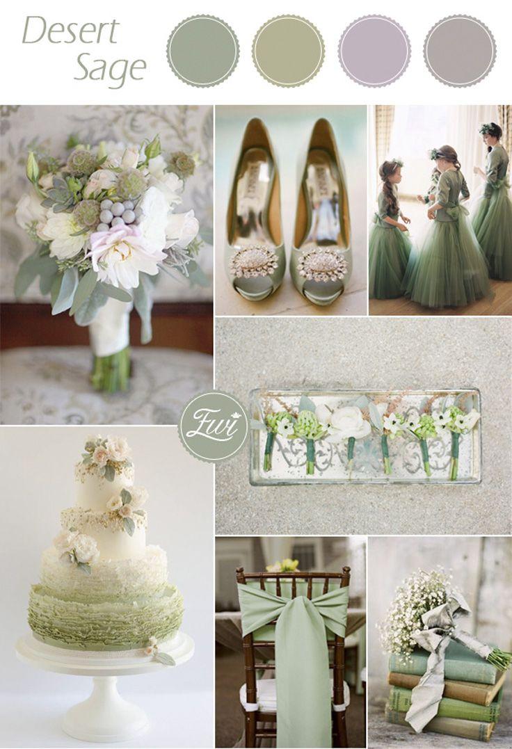 Top 10 Pantone Wedding colors for Fall 2015- Desert Sage | Wedding ...