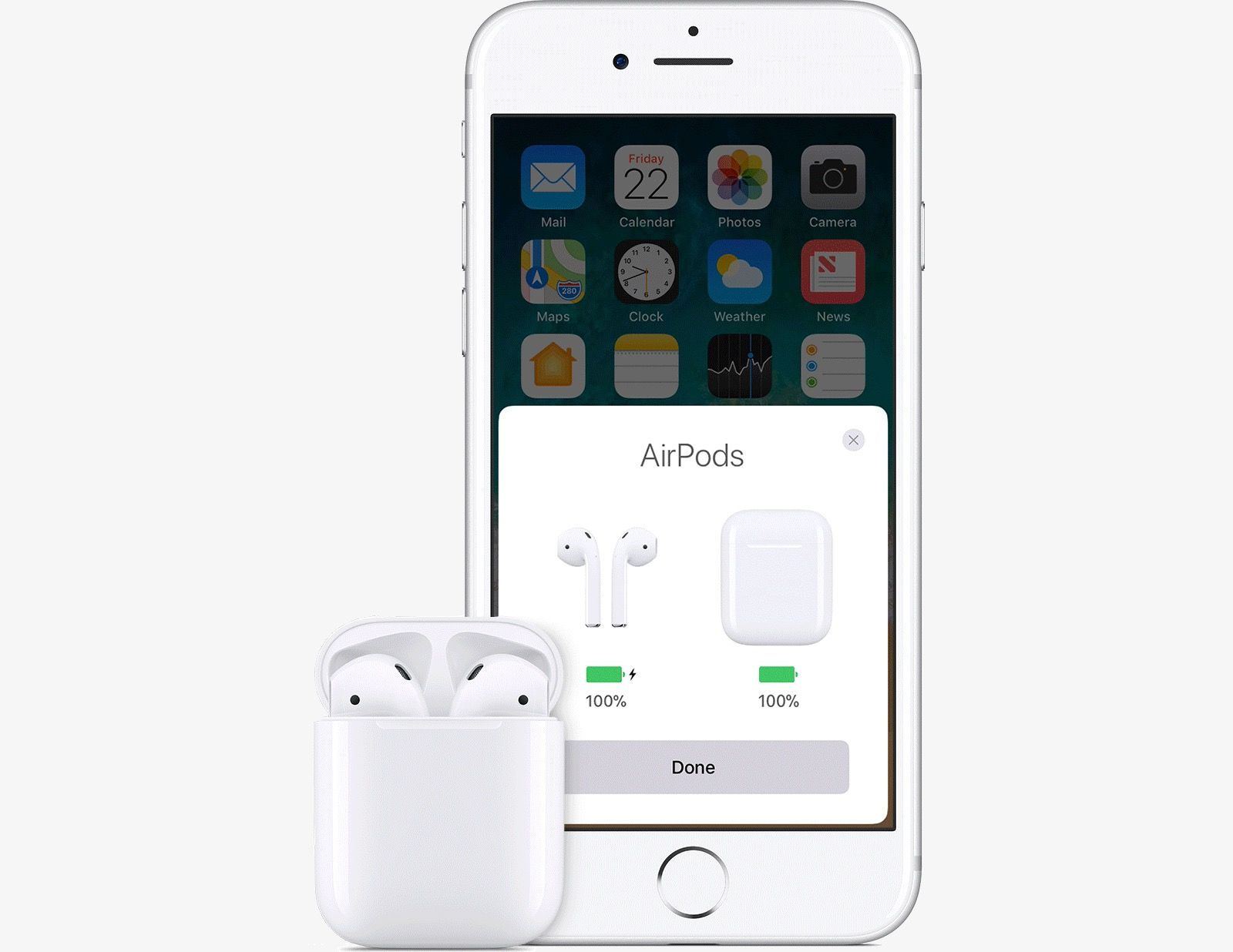 Airpods charge battery check charge battery electronic