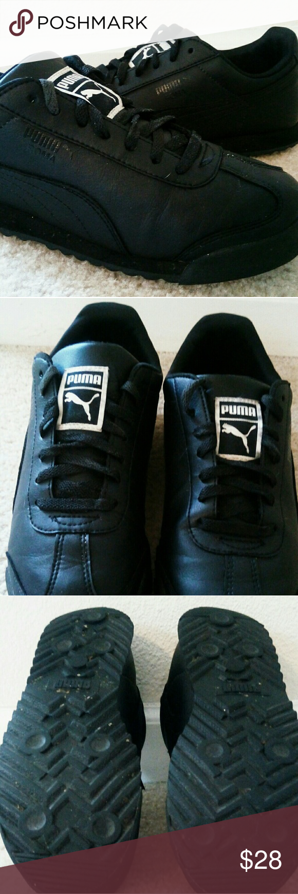 Shoes Roma Puma, gently worn. Puma Shoes Sneakers