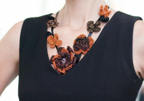 Chain Necklace: Free Crochet Patterns and Projects   Make It Coats