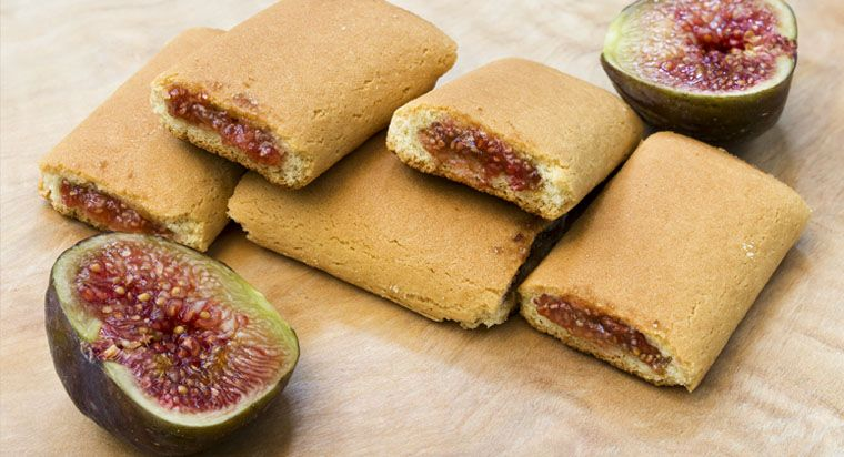 Delicious Fig Rolls Biscotti cookies