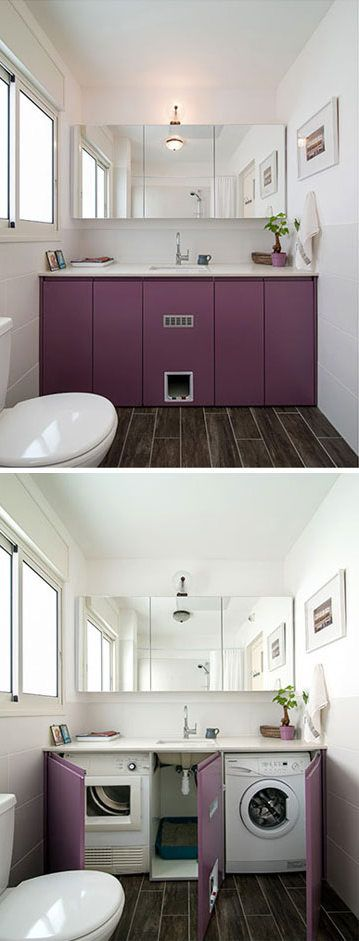 9 creative ways to hide your cat s litter box tiny house on clever small apartment living organization bathroom ideas unique methods for an organized bathroom id=11234